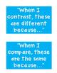 Compare Contrast WINTER