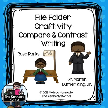Rosa Parks and Dr. Martin Luther King, Jr. {Compare & Cont