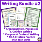 Compare & Contrast Writing, Opinion & Persuasive Writing,