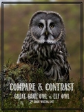 Compare & Contrast Writing Unit - North American Owls