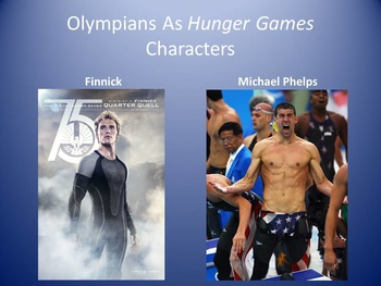 Compare/Contrast the Hunger Games and the Olympics