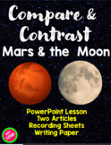 Compare & Contrast the Moon and Mars Informational Texts (