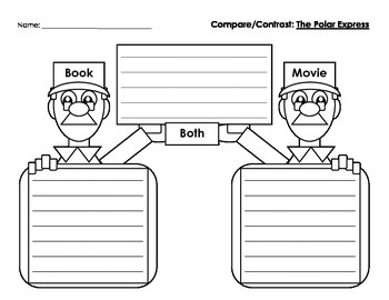 Polar Express Movie & Book : Compare & Contrast