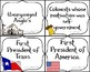 Compare & Contrast the Texas & American Revolutions Card Sort