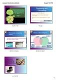 Interactive Compare Contrast whiteboard