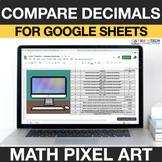 Compare Decimals Google Sheets | 4th Grade Math Digital My