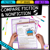 Compare Fiction and Nonfiction - 1st Grade RL.1.5