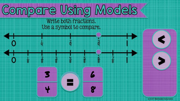 Compare Fractions: Interactive Math for the Google Classroom