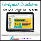 Compare Fractions: Interactive Math for the Google Classroom Distance Learning