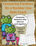 Compare Fractions on a Number Line Rally Coach