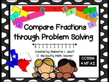 Compare Fractions through Problem Solving Pack