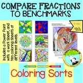 Compare Fractions to Benchmarks 1/2 and 1 |Comparing and C
