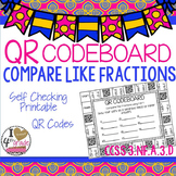 Compare LIKE Fractions CCSS 3.NF.A.3d