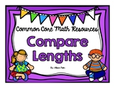 Compare Lengths {Common Core Math Resources}