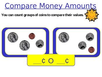 Compare Money Amounts