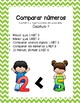 Compare Numbers Chapter 7 (Spanish Practice Worksheets)