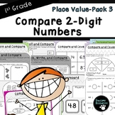 Compare Numbers-Place Value Pack 3 (First Grade, 1.NBT.3)