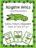Compare Numbers With Alligator Antics