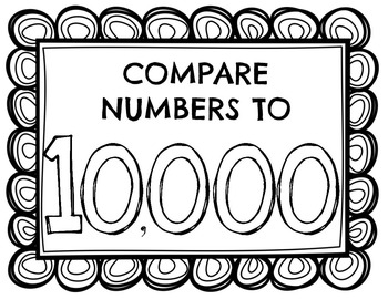 Compare Numbers to 10,000 and MORE!