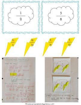 Compare, Order, Decompose, and Equivalent Fractions