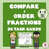 Compare & Order Fractions Task Cards