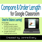 Compare & Order by Length for Google Classroom & Distance
