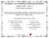 Compare & Ordering Rational Numbers enVision Math – Topic