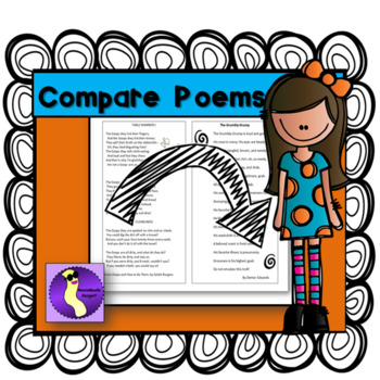 Compare Poems Great for National Poetry Month and Literacy