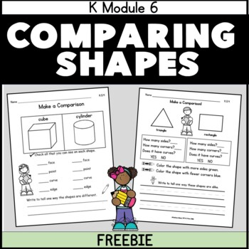 Compare Solid Shapes FREEBIE