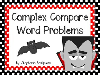 Compare Subtraction Problems within 20 (Uses words fewer and more)