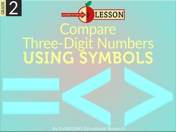 Compare Three Digit Numbers Using Symbols