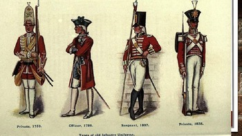 Compare Traits of British vs. Colonial Soldiers