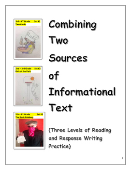 Compare Two Informational Texts (Reading and Written Response