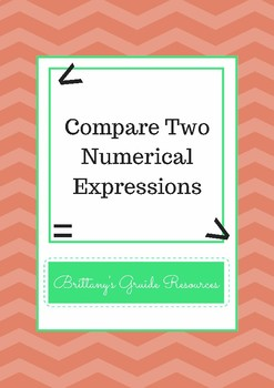 Compare Two Numerical Expressions