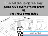 Compare Two Stories - Goldilocks and the Three Bears and T
