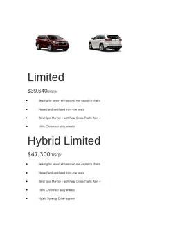 Compare a Hybrid Car with a Regular Car