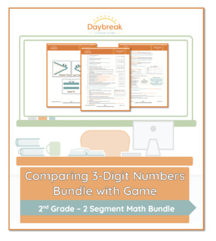 2nd Grade Math | Compare and Contrast 3 Digit Numbers Using , and = symbols.