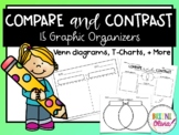 Compare and Contrast- 15 Graphic Organizers