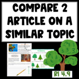 Compare and Contrast 2 Articles: Trees (CCSS RI 3.9, 4.9, 5.9)