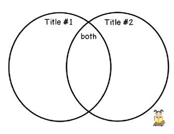 Compare and Contrast 2 Texts Graphic Organizer
