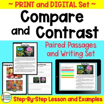 Compare and Contrast Passages With Paired Texts - Nonfiction