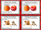 Compare and Contrast 24 Task Cards