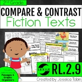 Compare and Contrast Fiction Texts 2nd Grade RL.2.9 with Digital Learning Links
