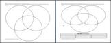 Compare and Contrast 3 Circle Venn Diagram