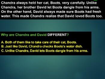 Compare Contrast 61-Slide PowerPoint Reading Common Core CCSS Gr 3-5 ELA LAFS