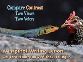 Compare and Contrast - A Snapshot Writing Lesson