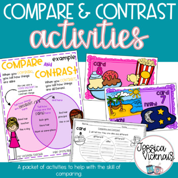 Compare and Contrast Activities Packet!