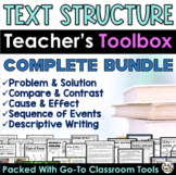 Text Structure Activities Passages Printables and More THE BUNDLE
