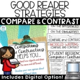 Compare and Contrast Passages, Graphic Organizers, Task Cards
