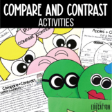 Compare and Contrast Activities: Anchor Charts, Crafts, Worksheets and More